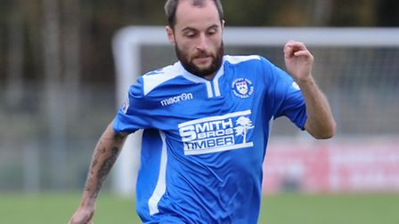 Chris Henderson is an injury doubt for Lowestoft's game at Barrow. Picture by Richard Land/Focus Im