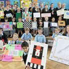 Pupils at the Sacred Heart in Swaffham, have designed their own board games. Picture: Ian Burt
