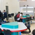 Part of Thetford Academy's new sixth form centre.