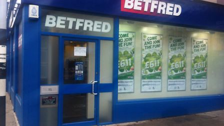The Betfred shop that was robbed