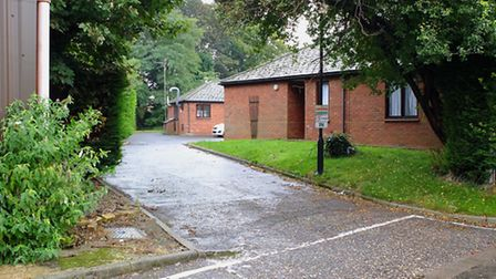 A view from the entrance of King's lynn residential Home, which has had a critical CQC report and be