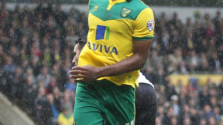 Norwich City striker Cameron Jerome missed out on the Championship player-of-the-month award. Pictur