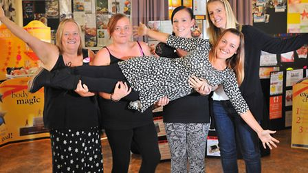 Super slimming family members who have all lost weight after being inspired by the NHS referral sche