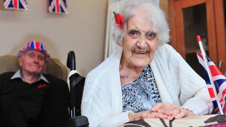 Claremont House in Caister hold a World War I themed event to mark national 'UK Older People's Day'.