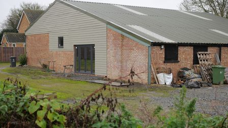 House with a barn: Manor Farm, Girton, where Cllr Roger Hickford to in 2018.