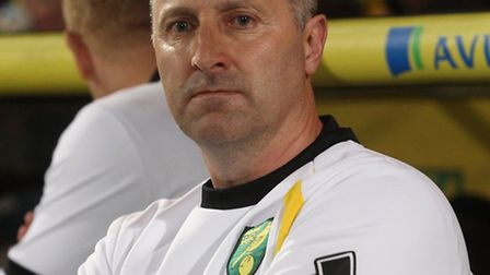 Norwich City manager Neil Adams.