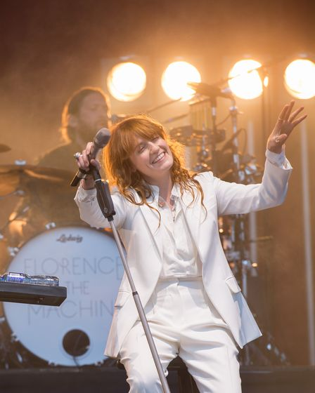 Florence and the Machine live at Radio 1 Big Weekend 2015 in Norwich - Paul Bayfield