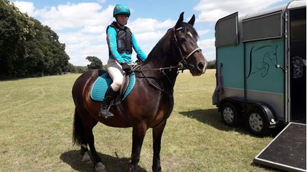 Lauren, aged 15, is a keen rider andMrs P is an experienced eventing horse