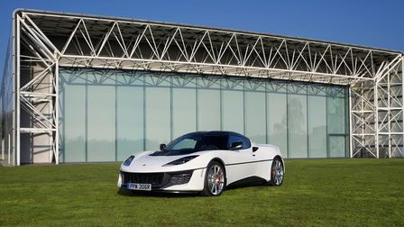 Lotus chose the dramatic backdrop of the Sainsbury Centre at the University of East Anglia (UEA) to