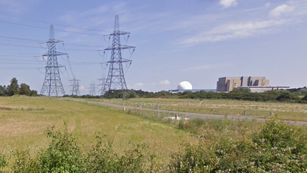 Sizewell A and B plants at Leiston