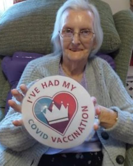 Residents vaccinated against Covid at The Gables, Chatteris