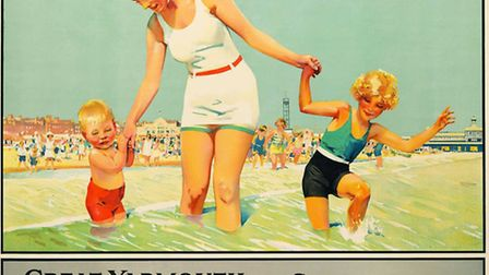 Yarmouth posters going for auction in US