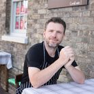 Owner and Head Chef at Pea Porridge, Justin Sharpe. The restaurant has been awarded Suffolk's first Michelin Star in 40 years