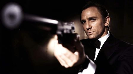 EDITORIAL USE ONLY Undated handout file photo issued by EON Productions of Daniel Craig as James B