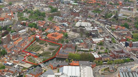 Contracts have been exchanged for the sale of St Anne's Wharf in Norwich. Picture: Submitted.