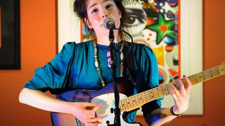 Daisy Victoria performs at Epic for the Norwich Sound and Vision festival. Picture: DENISE BRADLEY