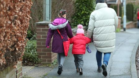 Most children will not make their way toschool until March 8 at the earliest.
