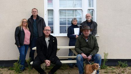 Andrew and Liz Fairbrother,Nick Nash, Anne Fairbrother, Paul Withams and Roger Frere are part of the group offering shares in the pub project
