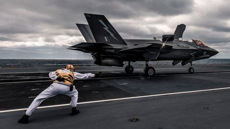 More F-35 Lightning jets are set to join HMS Queen Elzabeth Picture: MoD