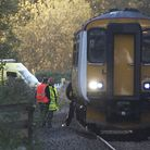 A Beccles man has died after being hit by a train at North Cove