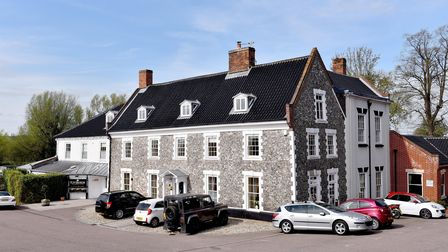 Waveney House Hotel, Beccles.Picture: Nick Butcher