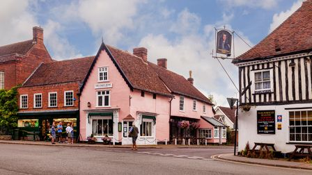 The picturesque town of Dedham Vale