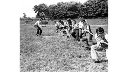 Chadacre Young Farmers Club pulling out all the stops for their tug of war competitions