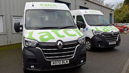 Two new Katch buses are set to hit the roads of east Suffolk soon