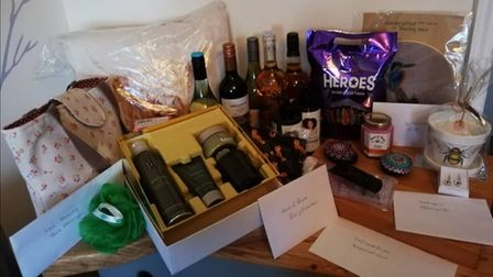 A selection of prizes