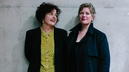 ros green and sarah perry standing side by side