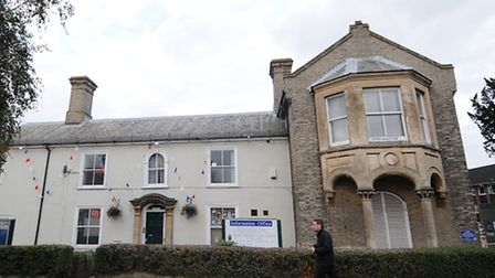 North Walsham Town Council offices where Wetherspoons plan to set up a pub. Picture: ANTONY KELLY