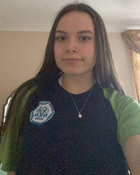 Leah Harris from the North Norfolk Vikings Swimming Club.