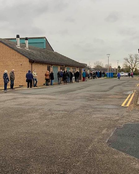 NHS staff rallied when IT issues caused delay at Doddington vaccination centre