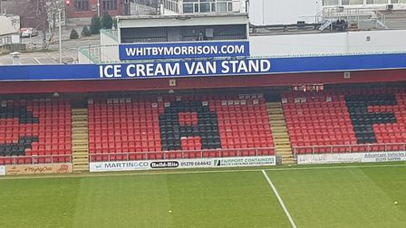 The Whitby Morrison Ice Cream Van Stand at Crewe
