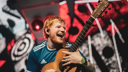 Ed Sheeran's second night at Chantry Park in Ipswich.