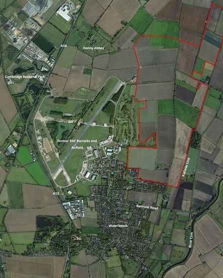 Waterbeach New Town East, site layout