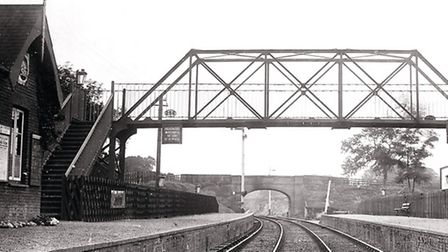 North Norfolk Railway footbridges appeal - the old Drayton bridge which will be replicated at Holt.