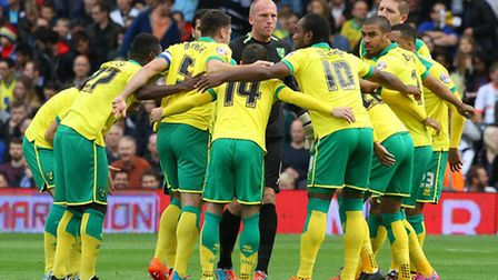 Norwich City's squad have discussed their recent problems ahead of tonight's clash with Leeds. Pictu
