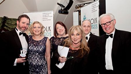 Norfolk Care Awards 2014. Pictured: Outstanding Achievement - Paul Goldsmith and Paul Scott. Photo: