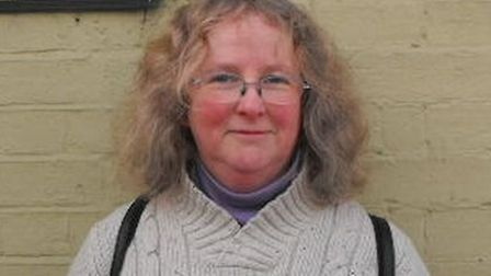 Norwich City Council elections. Green candidate. Pictured: Lesley Grahame