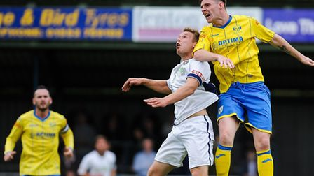 Dan Quigley will not be able to pull on the blue and gold jersey of King's Lynn Town this afternoon.