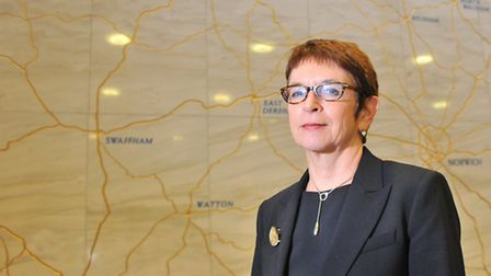 Dr Wendy Thomson, managing director of Norfolk County Council, has revealed her proposed management