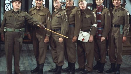 The classic Dad's Army cast.