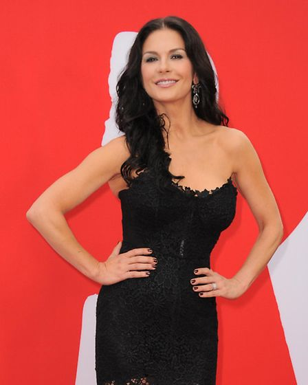 Catherine Zeta-Jones, who will appear in the new Dad's Army film. Photo by Jordan Strauss/Invision/A