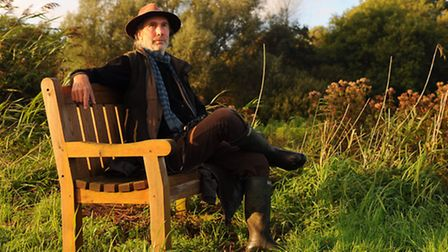 Simon Barnes at his home in Norfolk. The song of a Cettis warbler sealed the deal.