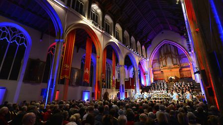 EDP Festival of Carols at St Andrew's Hall in Norwich. Photo: Bill Smith