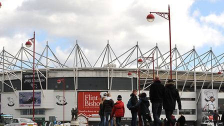 The iPro Stadium, Derby. Picture: Nigel French/PA Wire.