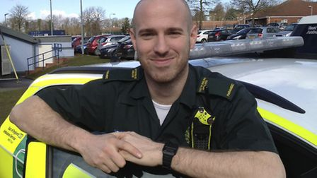 Dale Gedge, a paramedic with the EEAST is heading to Sierra Leone to join the ebola fight.