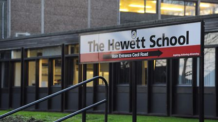 Hundreds of people have signed a petition about the future of the Hewett School. Picture: Denise Bra