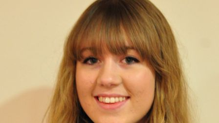 Annie Baldwin, member of the youth parliament for Broadland.